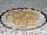 Ořechové řezy ledové recept