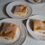 Jahodovo-ananasová bublanina recept