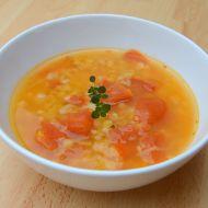 Čočkovo-rajčatová polévka recept