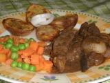 Vepřová játra na bylinkovém koření a cibuli recept