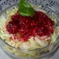 Celerový salát s malinami recept