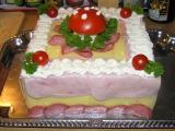 Slaný dort s muchomůrkou recept