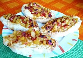 Rajčatovo  tykvové ( cuketové ) lodičky recept