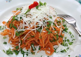 Pravé italské špagety  Spaghetti recept