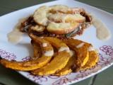 Cuketové steaky s nektarinkou a Hokkaido hranolky recept ...