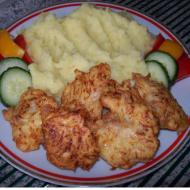 Kuřecí řízek v česnekovo-sýrovém těstíčku recept