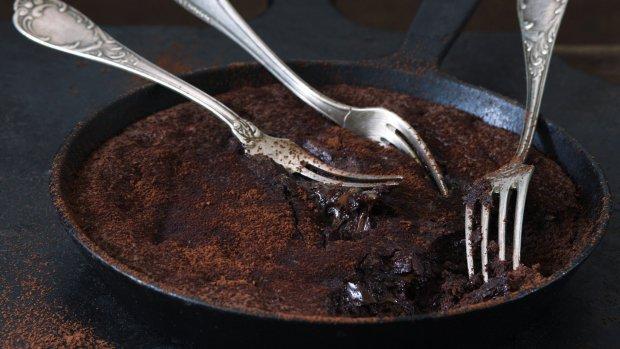 Brownies z pánve