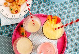 Dětské ovocné koktejly