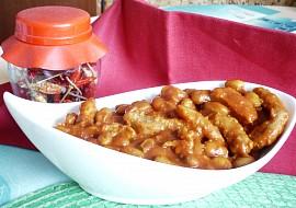 Ostrá sojovo  fazolová pánev recept