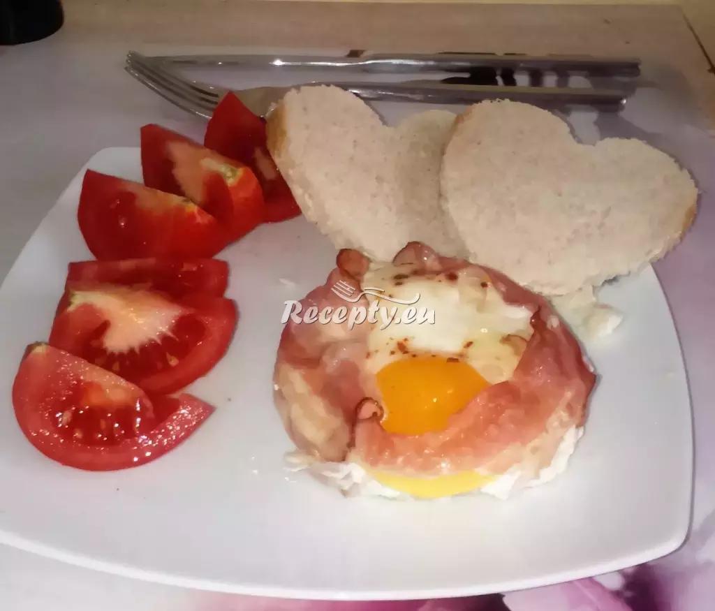 Valentýnská snídaně recept  předkrmy, snídaně