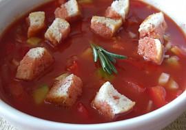 Gazpacho snadno a rychle recept