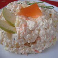 Lehký bramborový salát s křenem recept