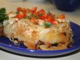 Šumavský bramborový nákyp recept