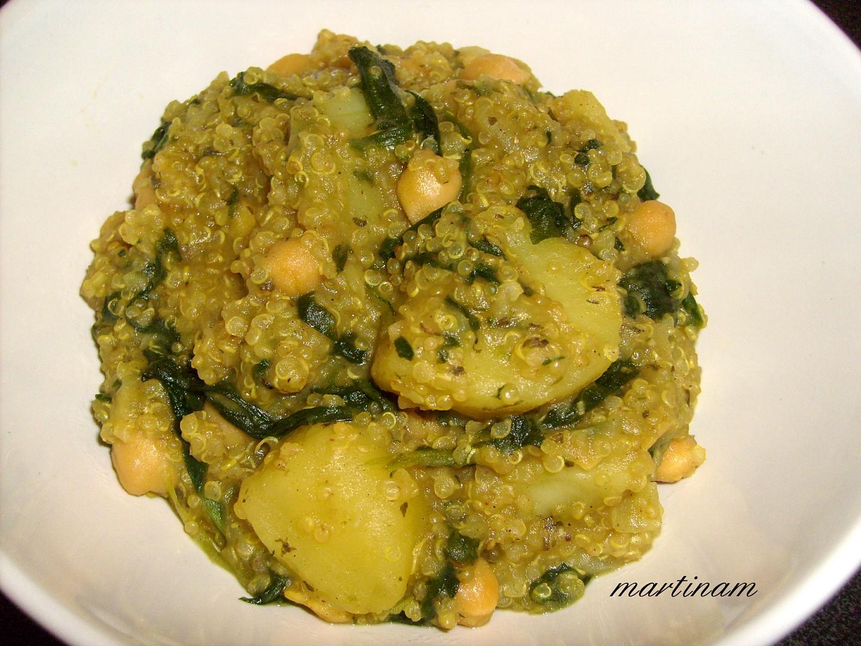Quinoa kari z jednoho hrnce (volně inspirované Ellou) recept ...