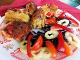 Bochníky z brambor a červené papriky recept