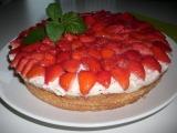 Dort s jahodami/jiným ovocem recept
