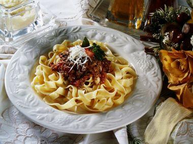Recept Špagety s ragú