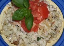 Tagliatelle s gorgonzolou na hrušce recept