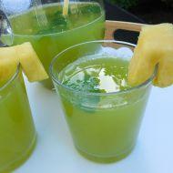 Okurkovo-ananasová limonáda recept