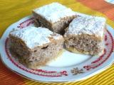 Jablkový koláč s ořechovým těstem recept