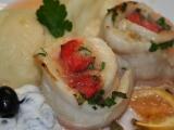 Roládky z pangase s uzenou rybou recept
