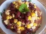 Fazolový salát s kukuřicí recept