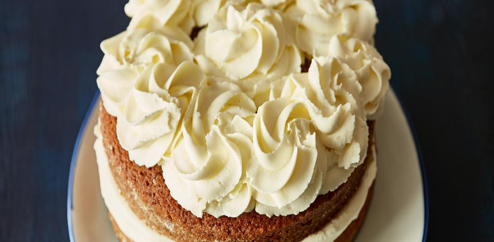 Čajový dort s krémem