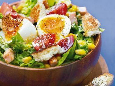 Recept Zeleninový salát s vejci