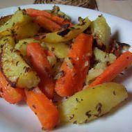 Brambory s mrkví na kmínu recept
