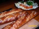 Dalamánkové bagety recept