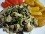 Květák s houbami a vejci recept