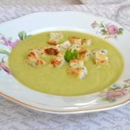 Krémová polévka z brokolice a hrášku recept