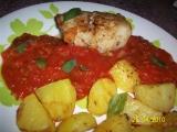 Rybí závitky v rajčatové omáčce recept