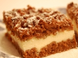 Strouhaný koláč recept