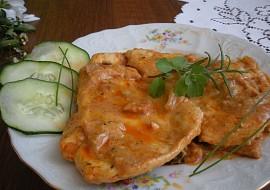 Kuřecí plátek v cibulovo-paprikové omáčce recept
