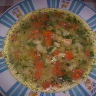 Zeleninová polévka s jáhlami recept