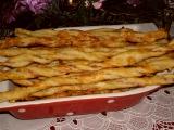 Sýrové tyčinky z listového těsta recept
