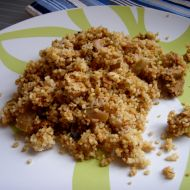 Kuskus s marinovaným tofu recept