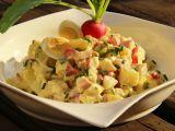 Jarní bramborový salát recept