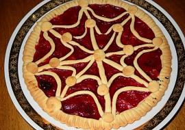 Mřížkový koláč  zdobení recept