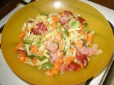 Uzené v zelenině recept