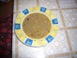 Čočková polévka s uzeným masem recept