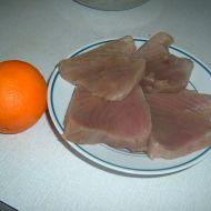 Smažený tuňák s pomerančem recept