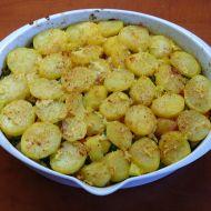 Zapečené brambory s kuřecím masem, brokolicí a zeleninou recept ...