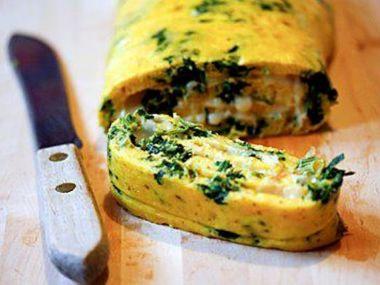 Bylinková omeleta so syrom