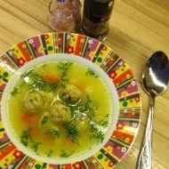 Polévka s bezlepkovými drožďovými knedlíčky recept
