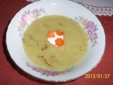 Polévka krémová z květákových listů recept