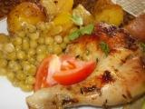 Bylinkové kuře ve vinné šťávě recept