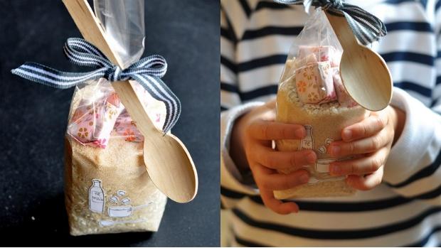 Mléčná rýže s karamelkou
