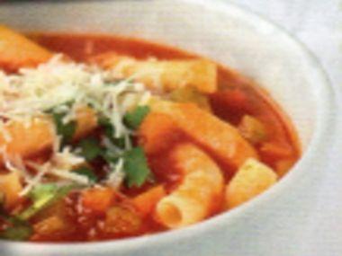 Minestrone  zeleninová polévka